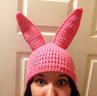 Ravelry  Louise-Inspired Bunny Hat pattern by Emily Taylor cc3e4b05bae