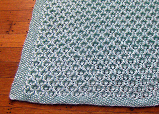Ravelry Honeycomb Lacy Baby Blanket Pattern By Marjorie Arnott