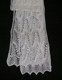 Ravelry: Lily of the Valley Estonian Lace Scarf pattern by ...