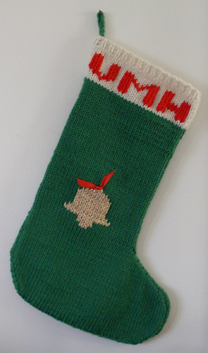 Ravelry Two Needle Christmas Stocking Pattern By Erika Hughes