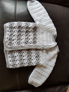 Ravelry Loopy Love Baby Sweater Pattern By Tamara Kelly