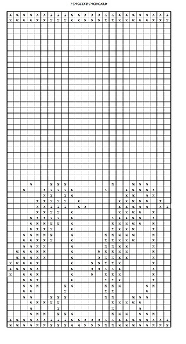 Estherkate S Machine Knitting Charts And Punchcards Fair Ravelry