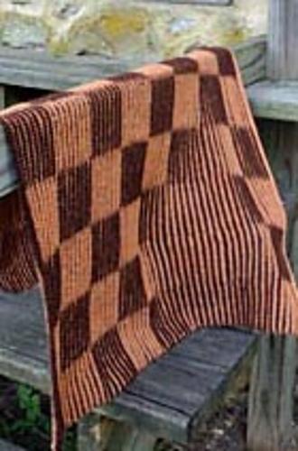 Ravelry Shadow Checkerboard Baby Blanket Pattern By Clara Masessa