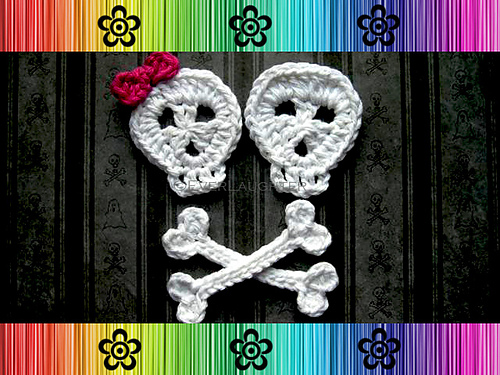 Ravelry Skull And Crossbones Applique Pattern By Patricia Eggen
