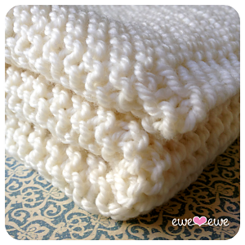 Ravelry: Serenity Baby Blanket pattern by Heather Walpole