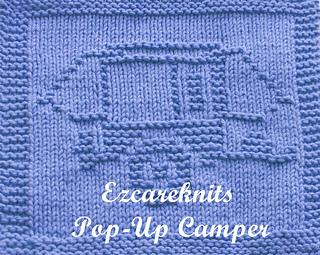 Pop-Up Camper pattern by Ezcareknits
