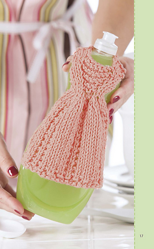 Ravelry Thurs Off To The Spa Dishcloth Dress Pattern By Debbie Trainor