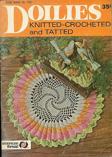 Ravelry Star Book No 228 Doilies Knitted Crocheted Tatted
