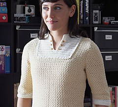 Ravelry customize a crochet tunic blouse and pullover 4 free queen annes lace blouse dt1010fo