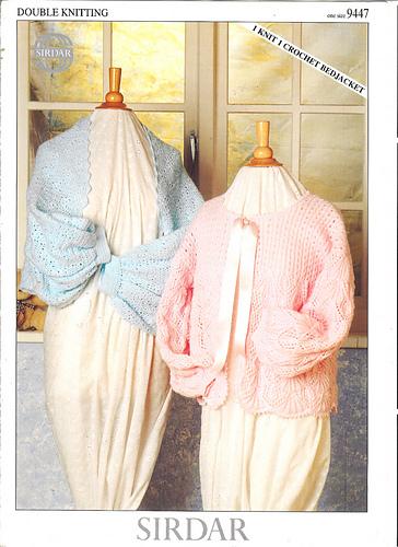 Ravelry Sirdar 9447 I Knit I Crochet Bedjacket Patterns