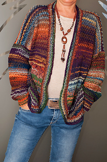 Ravelry: Nastja - Colorful cardigan pattern by Rita Maassen