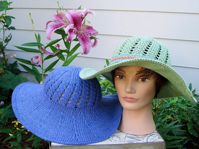 56ef29fe32f Ravelry  Sunny Summer Hat pattern by Vicki Finster