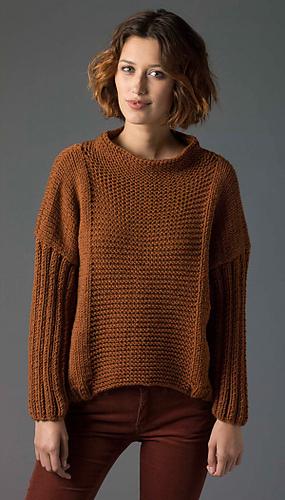 Ravelry Knit Pullover Pattern By Irina Poludnenko