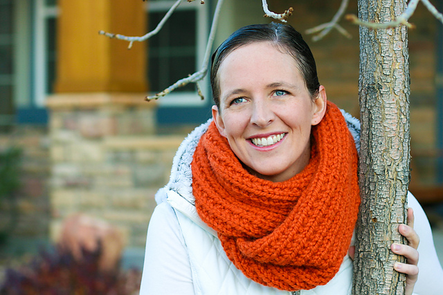 Ravelry A Chunky Moebius Cowl Pattern By Flax Twine Anne Weil