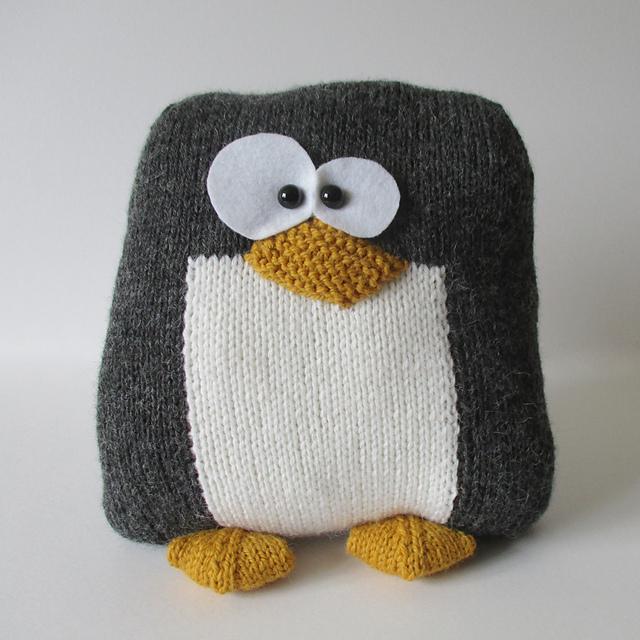 Ravelry Penguin Cushion Pattern By Amanda Berry