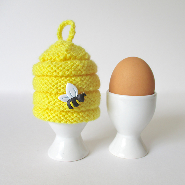 Ravelry Beehive Egg Cosy Pattern By Amanda Berry