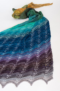 Ravelry Shetland Swash Shawl Pattern By Denise Bartels