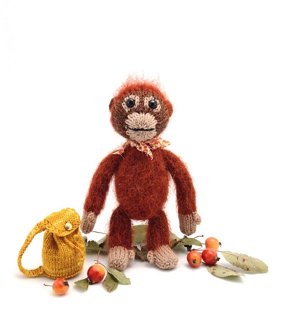 Ravelry Baby Orangutan Pattern By Barbara Prime