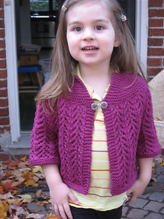 ravelry baby sweater on two needles february pattern by. Black Bedroom Furniture Sets. Home Design Ideas