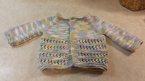 bacc62c76568e Ravelry  Jasmine Baby Jacket pattern by marianna mel
