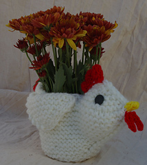 Chicken_flower_candy_container_cover_three_quarters_view_with_flowers_small
