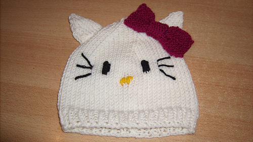 Ravelry Hello Kitty Hat Pattern By Beadwhore