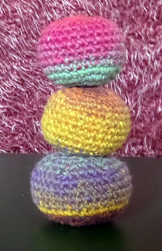 Ravelry: amigurumi hacky sacks of fun. pattern by Sharon Pridmore