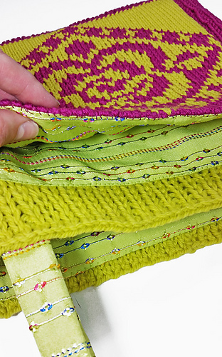 Ravelry Loom Knit Garden Tote Pattern By Bethany A Dailey