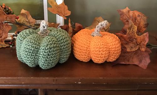 Kết quả hình ảnh cho 3 - Wooly Pumpkin crochet