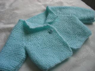 54b6513d42a8 Ravelry  Garter Stitch Cardigan pattern by Debbie Bliss