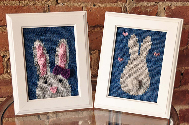 Ravelry Knitted Wall Art More Than 20 Designs To Knit And Frame