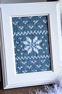 Fair_isle_flurries_framed_knitted_wall_art_teal_snowflake_small2