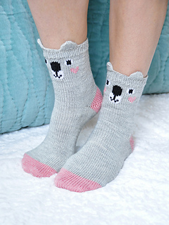 Pawsome_pals_knitted_koala_socks_with_ears_knitting_pattern_2_small2