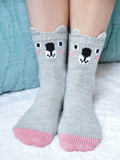 Pawsome_pals_knitted_koala_socks_with_ears_knitting_pattern_1_small2