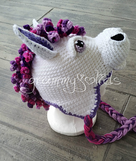 Ravelry  Horsin  Around Horse Hat pattern by JoAnne Grimm Thompson 930a368d560