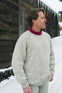 b43a1eb5fbcc4 Ravelry    991 Neck down Pullover for Men pattern by Diane Soucy