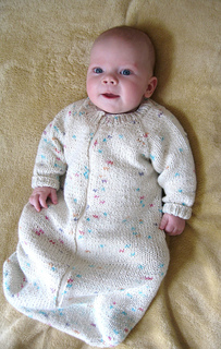 1a2ab4783 Ravelry    103 Baby Sleeping Bag pattern by Diane Soucy
