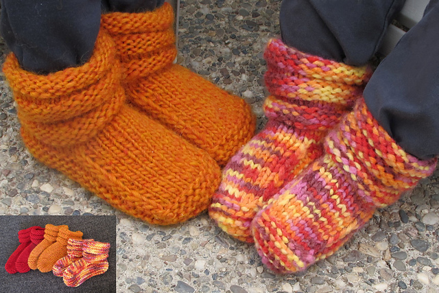Ravelry 113 Childrens Mukluk Slippers Pattern By Diane Soucy