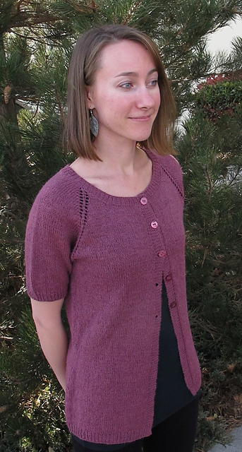 8c45c1139b49eb Ravelry    123 Top Down Lightweight Cardigan pattern by Diane Soucy