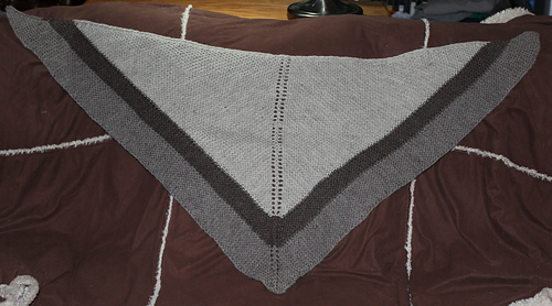 Ravelry Outlander Claire Rent Shawl Knit Pattern By