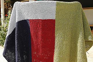 Moderne Log Cabin Blanket pattern by Kay Gardiner and Ann Shayne