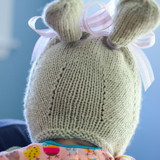 Ravelry Bunny Hat With Chin Ties Pattern By Grumperina
