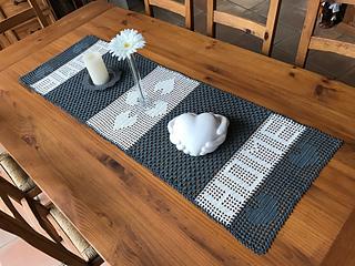 Ravelry Tischläufer Home Pattern By Heike Wiesmann