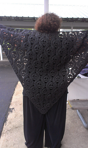 Ravelry Lost Souls Skull Shawl Pattern By Maryetta Roy