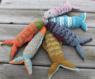 Ravelry Fair Isle Fish Pattern By Julia Marsh