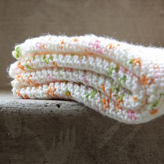 705737cfc Ravelry  Peas   Carrots Baby Blanket pattern by Heidi Gustad