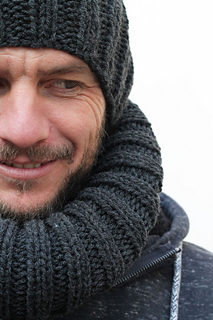 Ravelry  Men s knitted hat and cowl pattern by Louise Bollanos eb442c9e899