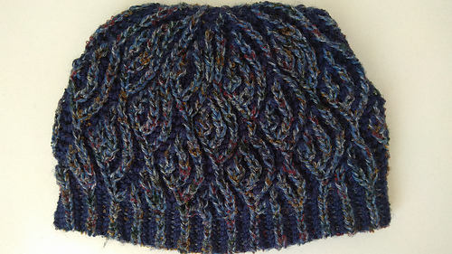 Ravelry Fish Scales Hat Pattern By Happy Knitter