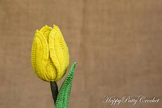 Ravelry tulip flower pattern by happy patty crochet happy patty crochet ccuart Gallery