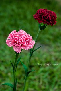 Ravelry carnation flower pattern by happy patty crochet happy patty crochet ccuart Images